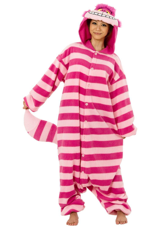 Amazon.com: Cheshire Cat Kigurumi - Adult Pajamas, costume $65.00