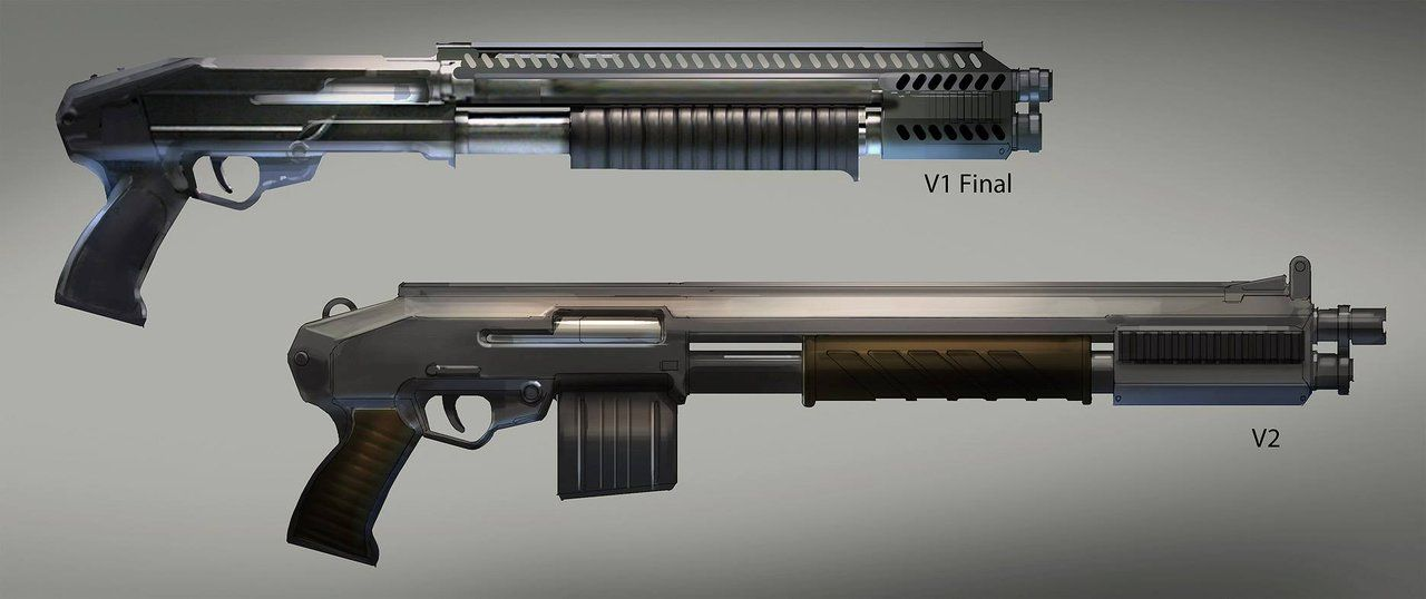 Guerrilla Armory: VC-30 Shotgun