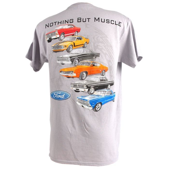 19e76c87 Muscle Car Apparel and Gifts - Ford T Shirt - Nothing but Ford, $17.95