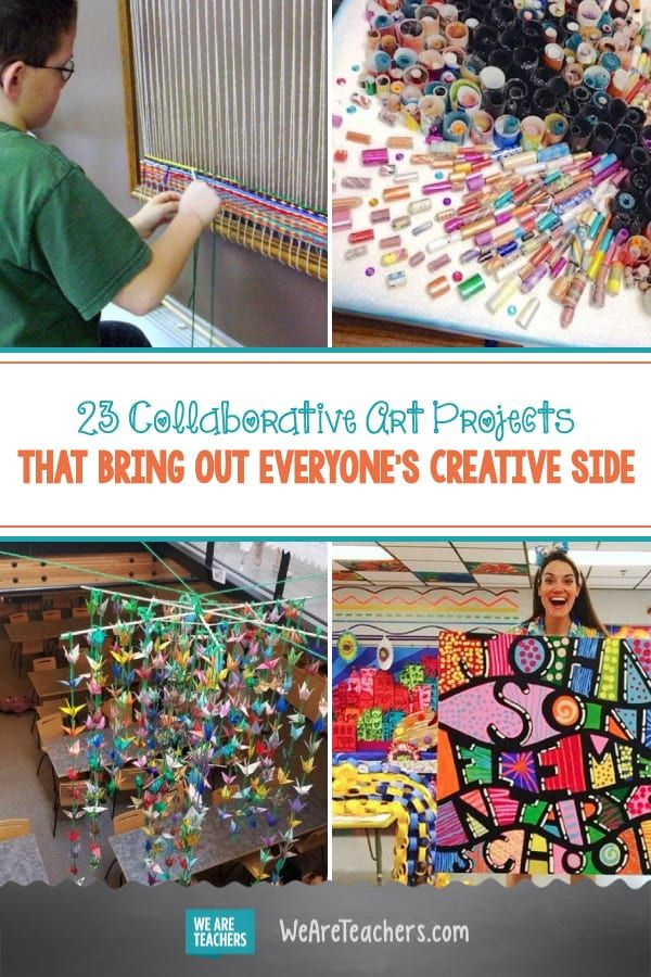 23 Collaborative Art Projects That Bring out Everyone's Creative Side