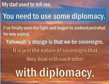 Diplomacy: skill in managing negotiations, handling people, etc., SO THAT THERE IS LITTLE OR NO ILL WILL!