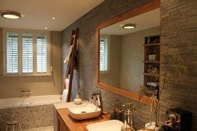 De landelijke badkamer | Eigen Huis & Tuin De tegels zijn mooi ...