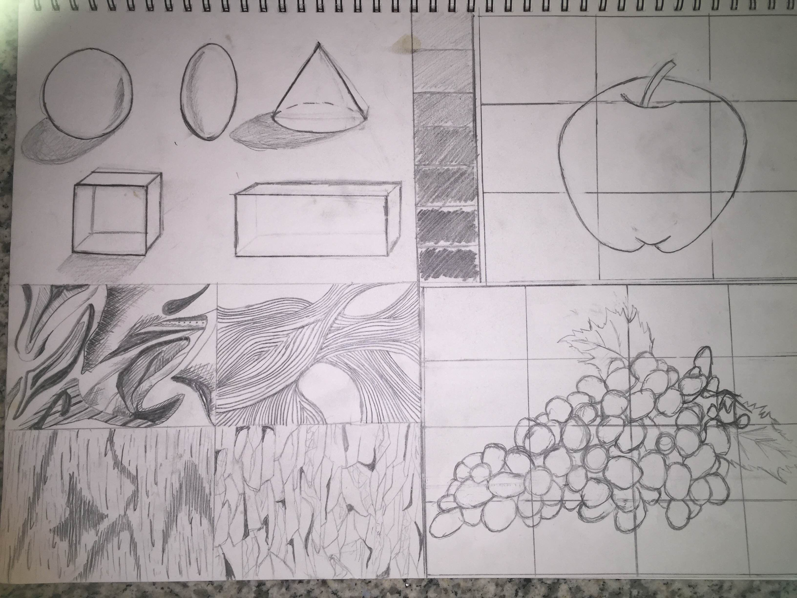 A Draw Basic Shapes Square Rectangle Circle Oval Triangle B