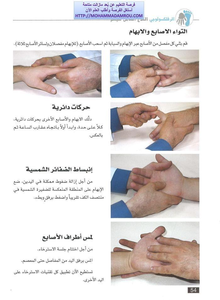 كتاب العلاج الشامل للجسم عبر تدليك اليدين والقدمين رفلكسولوجي Hands Thats Not My Lst