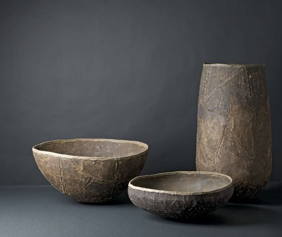 RELIGIO - RE-BOUND TO THE SOURCE, Kanshitsu jars by Manfred Schmid