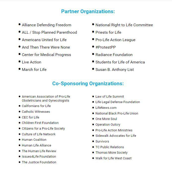Pro Life Organizations Pro Life National Right To Life Life Organization