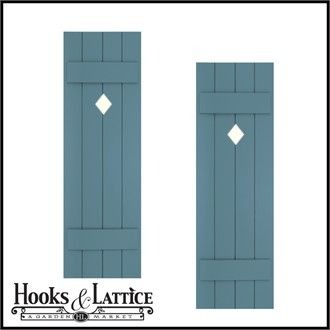 Diy Wood Shutters Exterior Designer Cut