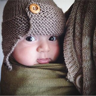 dda1eb1c4e9 Regan Baby Aviator hat knitting pattern