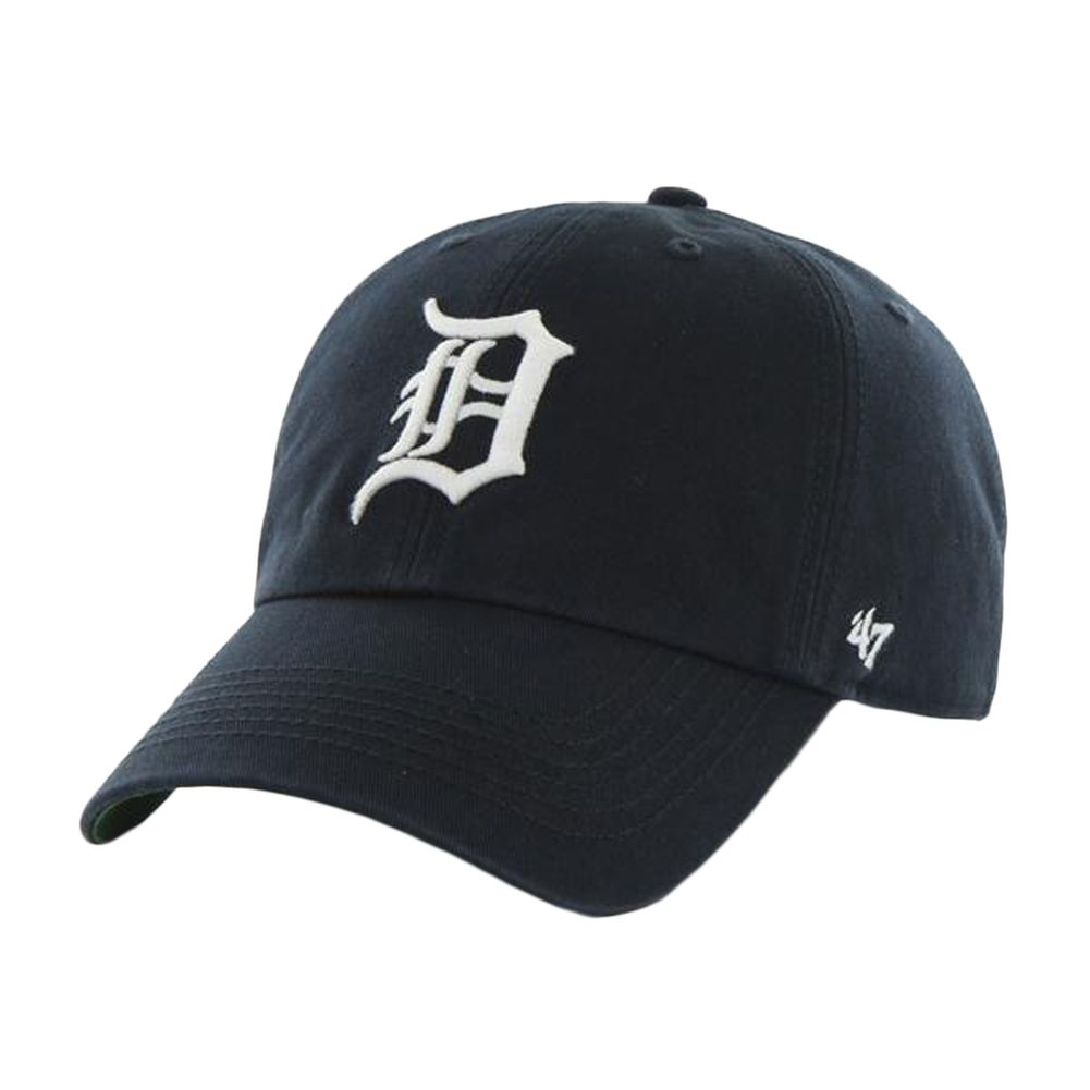 Detroit Tigers - Logo Franchise Navy Fitted Baseball Cap   OldGlory.com