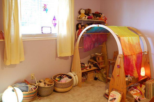 bedroom Waldorf playroom, Montessori room, Kids room
