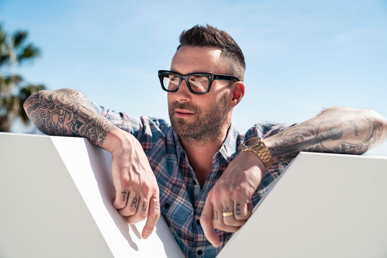 Maroon 5 Hairstyle: Adam Levine, Adam Levine Haircut