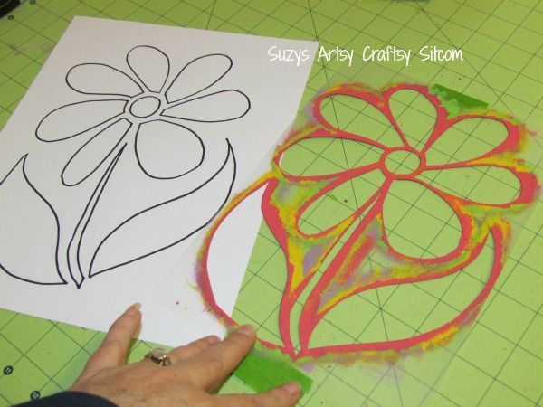 Stencil Art For Walls diy wall art with stencils! | stenciling, free pattern and walls
