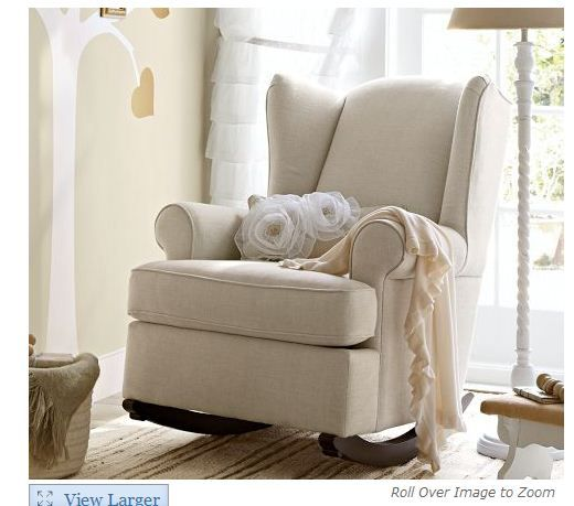 Delicieux Rocking Chair Conversion Kit | First Up The Wingback Rocker From Pottery  Barn Kids: