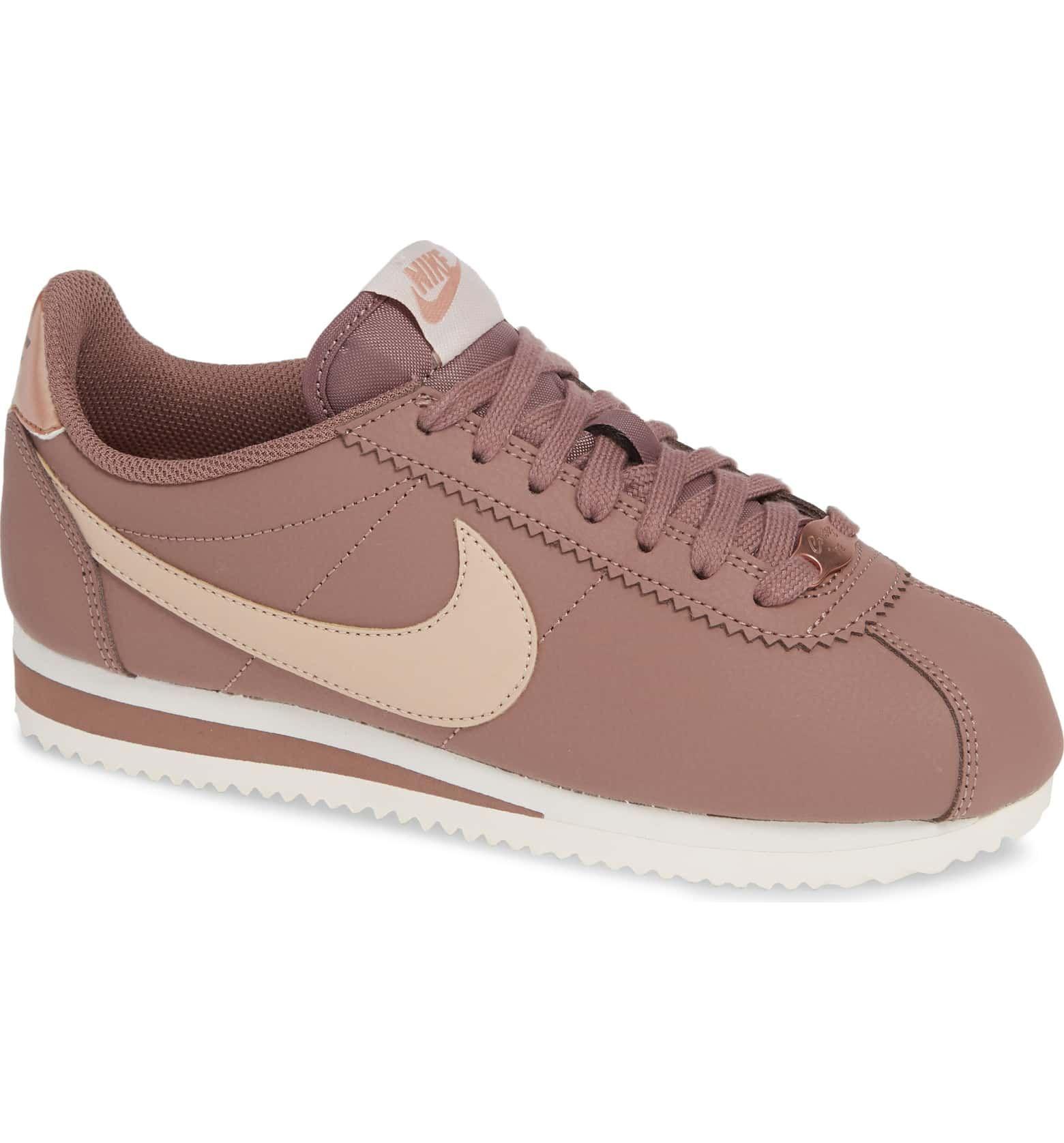 sale retailer 77b45 4111f Classic Cortez Sneaker, Main, color, SMOKEY MAUVE  PARTICLE BEIGE