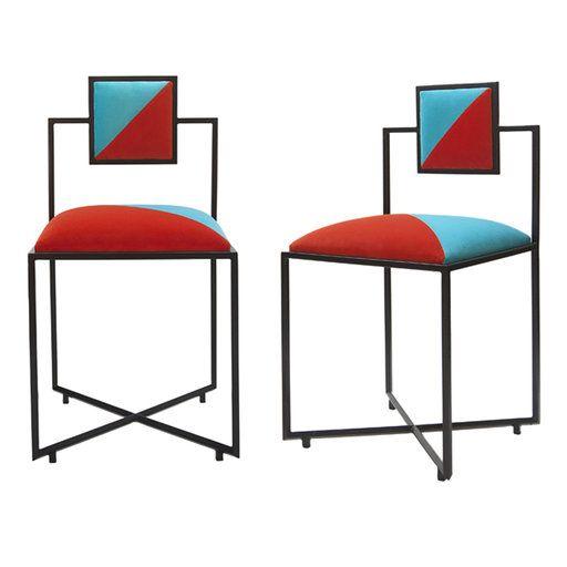 Coral And Tiffany Capri Chair Design