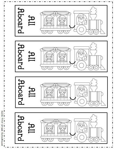 All Aboard The Polar Express Bookmarks By First Grade Schoolhouse Free Download Polar Express Activities Polar Express Party Polar Express