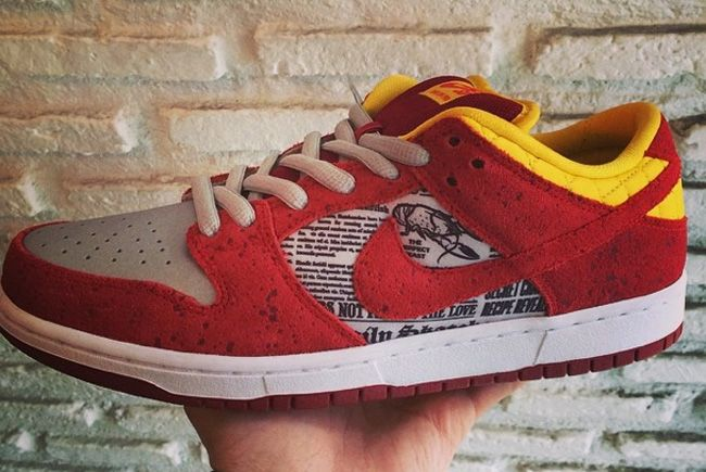 "Rukus Boardshop x Nike SB Dunk Low ""Crawfish"" (Preview) - EU Kicks: Sneaker Magazine"