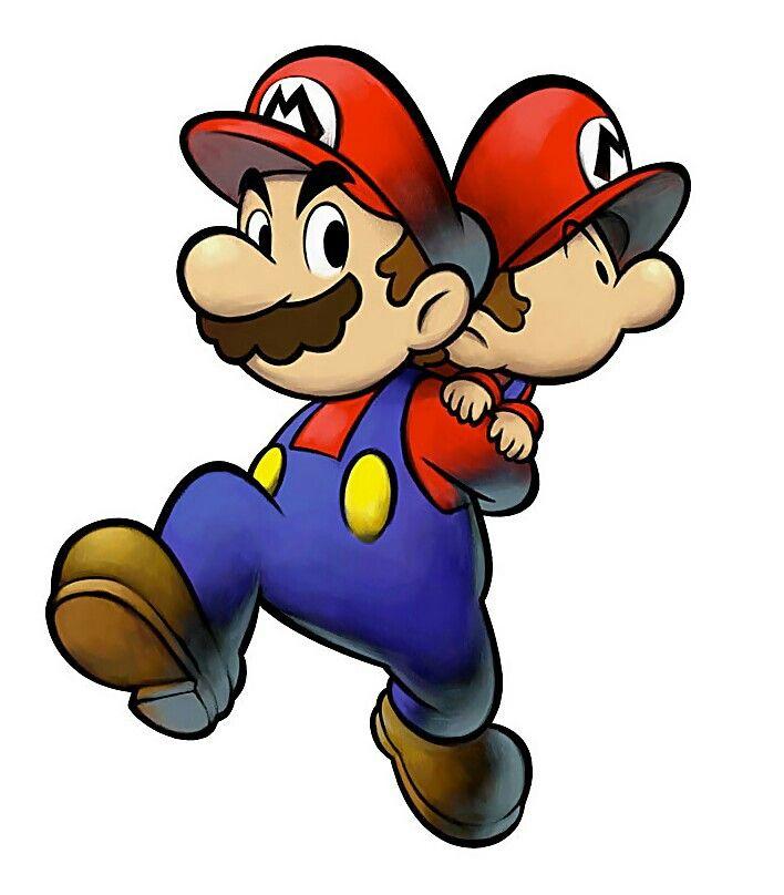 mario baby mario characters art mario luigi partners in timejpg - Bebe Mario