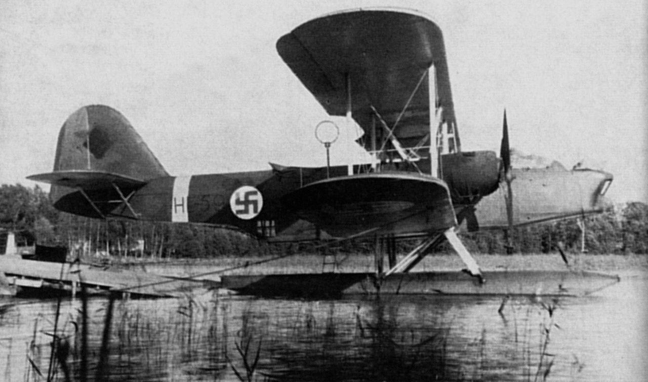 Heinkel he 59 Airsea rescue Wikipedia, the free
