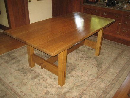 Stickley Dining Table No Reproduction Things I Made