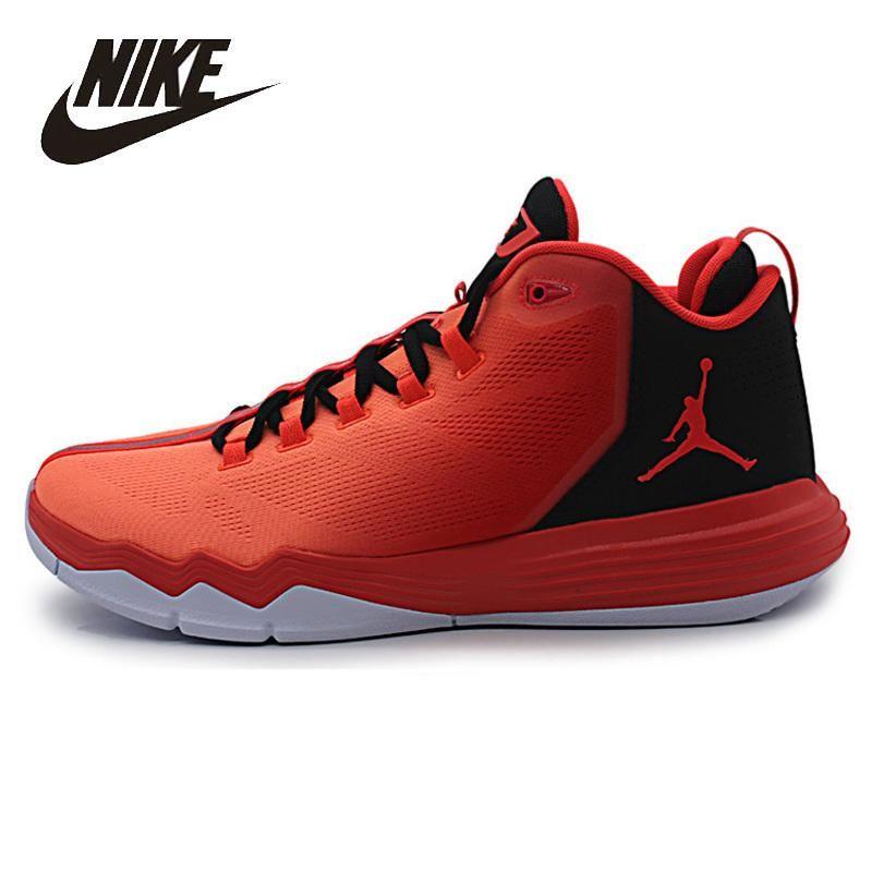 big sale 66b83 f98f5 NIKE Original AIR JORDAN CP3 Mens Basketball Shoes Comfortable High Quality  Anti-slip outdoor Sport Shoes For Men 845340-603