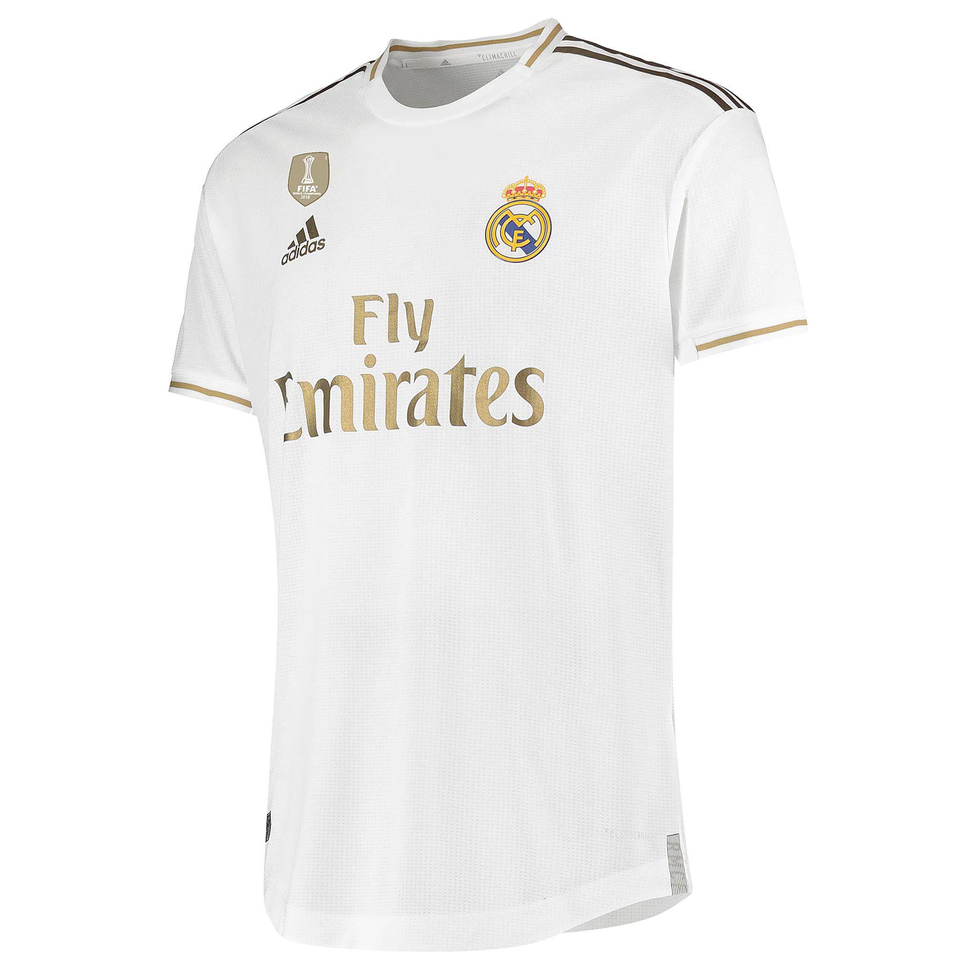 Real Madrid Home Football Kit Football Shirt 2019 20 Real Madrid Football Kits Football Shirts