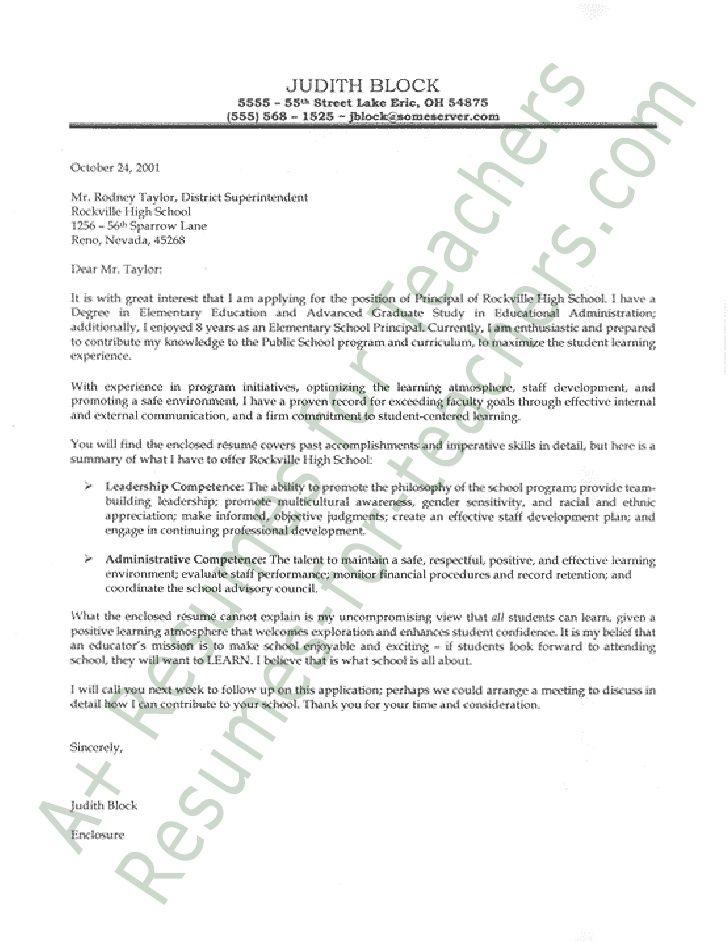 cover letter principal - Parfu kaptanband co