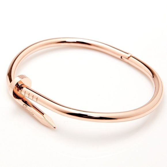 SALE  Twisted Nail Bangle Twisted Nail Bangle. Rose gold plated. Purchased from an Australian boutique. New without tags. Comes with box and dust bag.  TRADES. Offers welcome! thepeachbox Jewelry Bracelets