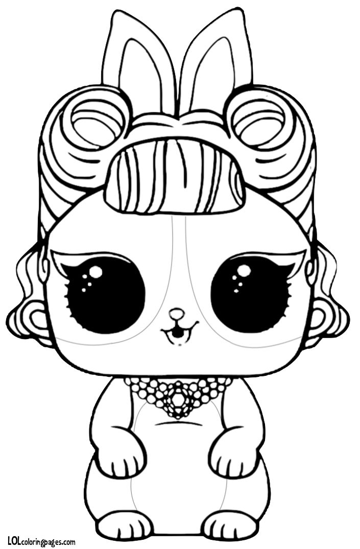 Lol doll coloring pages pets ~ Pin by Bonnie Patterson on coloring pages | Unicorn ...
