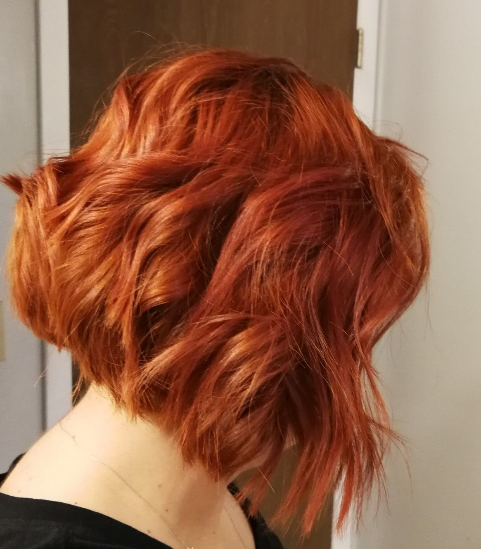 Short bob copper hair   Ginger hair, Hair styles, Short red hair