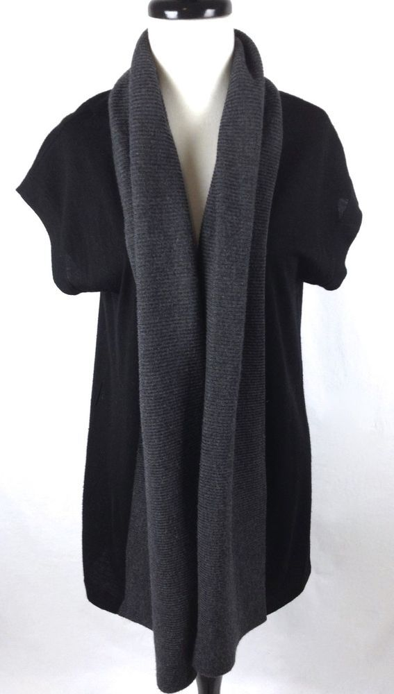 Banana Republic Sweater Womens Black Wool Shall S | Banana ...