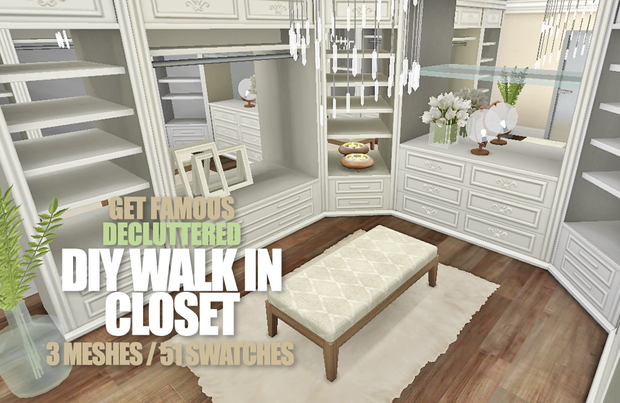 """Get Famous """"The Chronicles of DressUp"""" DIY Closet"""