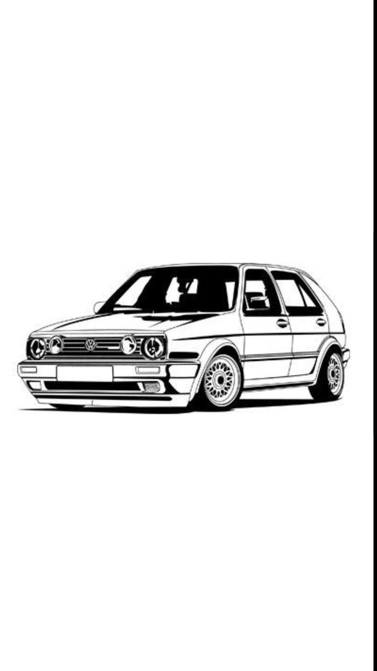 Pin Von Egon6x6 Auf Alles Volkswagen Golf Mk2 Volkswagen Golf Golf Mk2