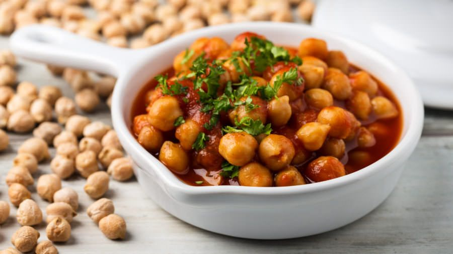 Recipe For Greek Style Chickpeas And Rice Greek Recipes Greek Chickpeas Recipes