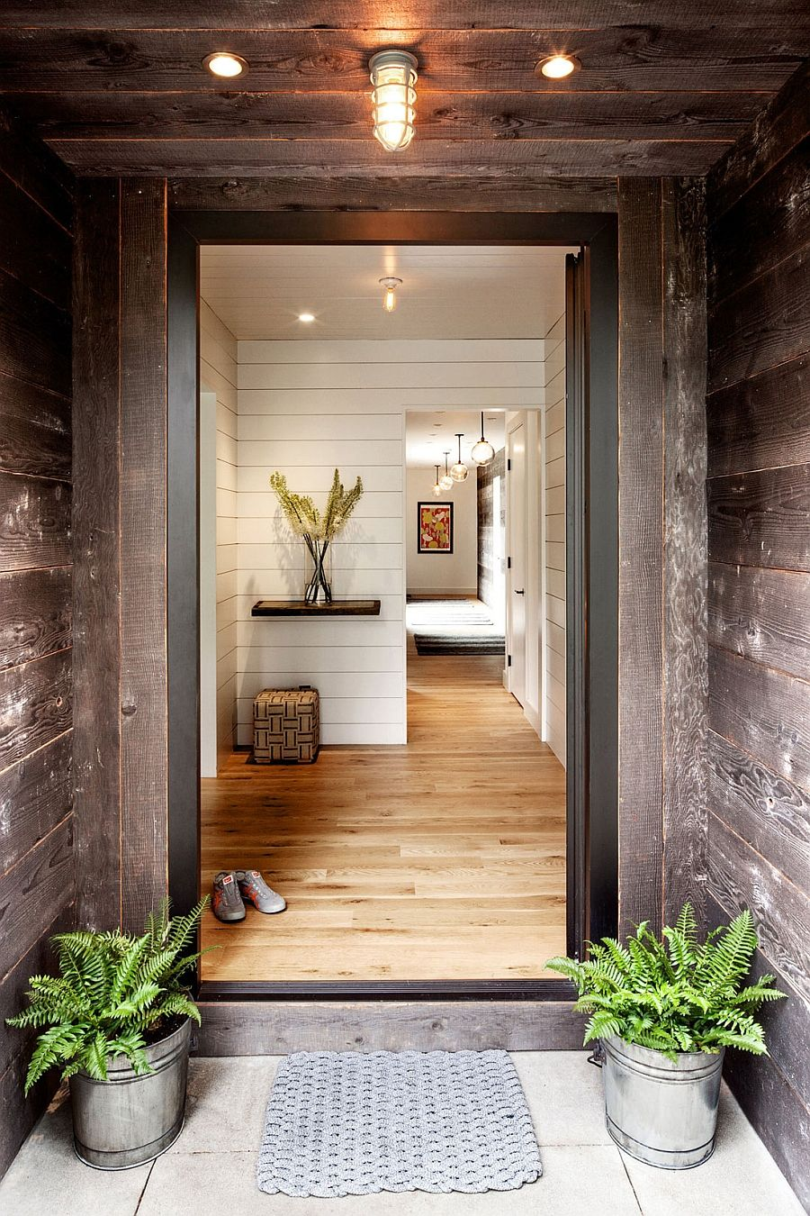 Idyllic portland home blends industrial and midcentury styles mid