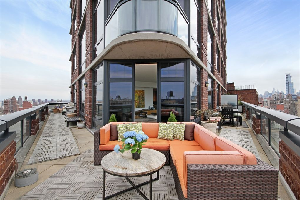 272 West 107th Street, Apt. 18B terrace | Rooftop design ...