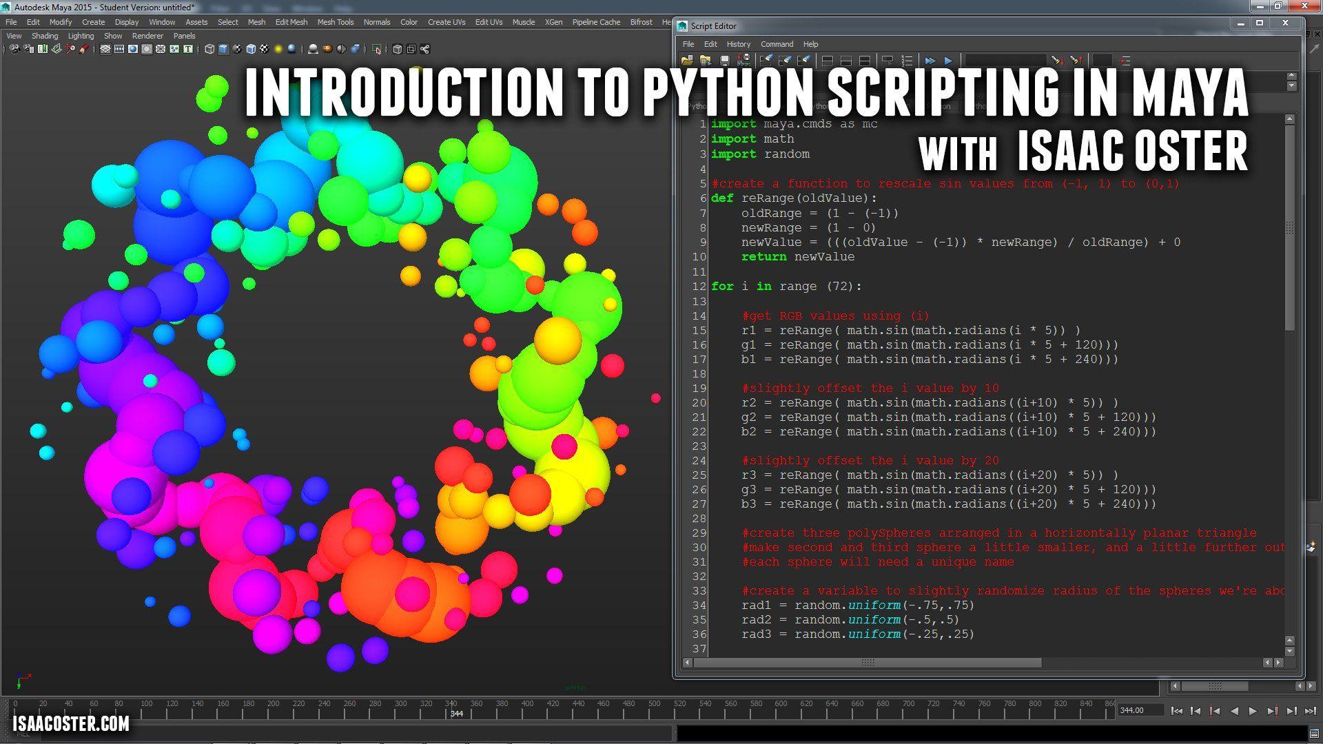 Introduction to Python Scripting in Maya | Rigging | Python