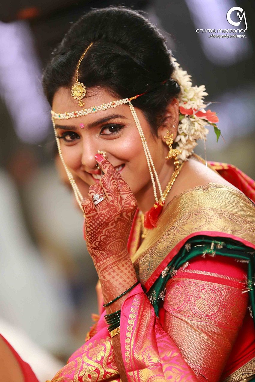 real weddings: gautam & sonal's classic marathi wedding by