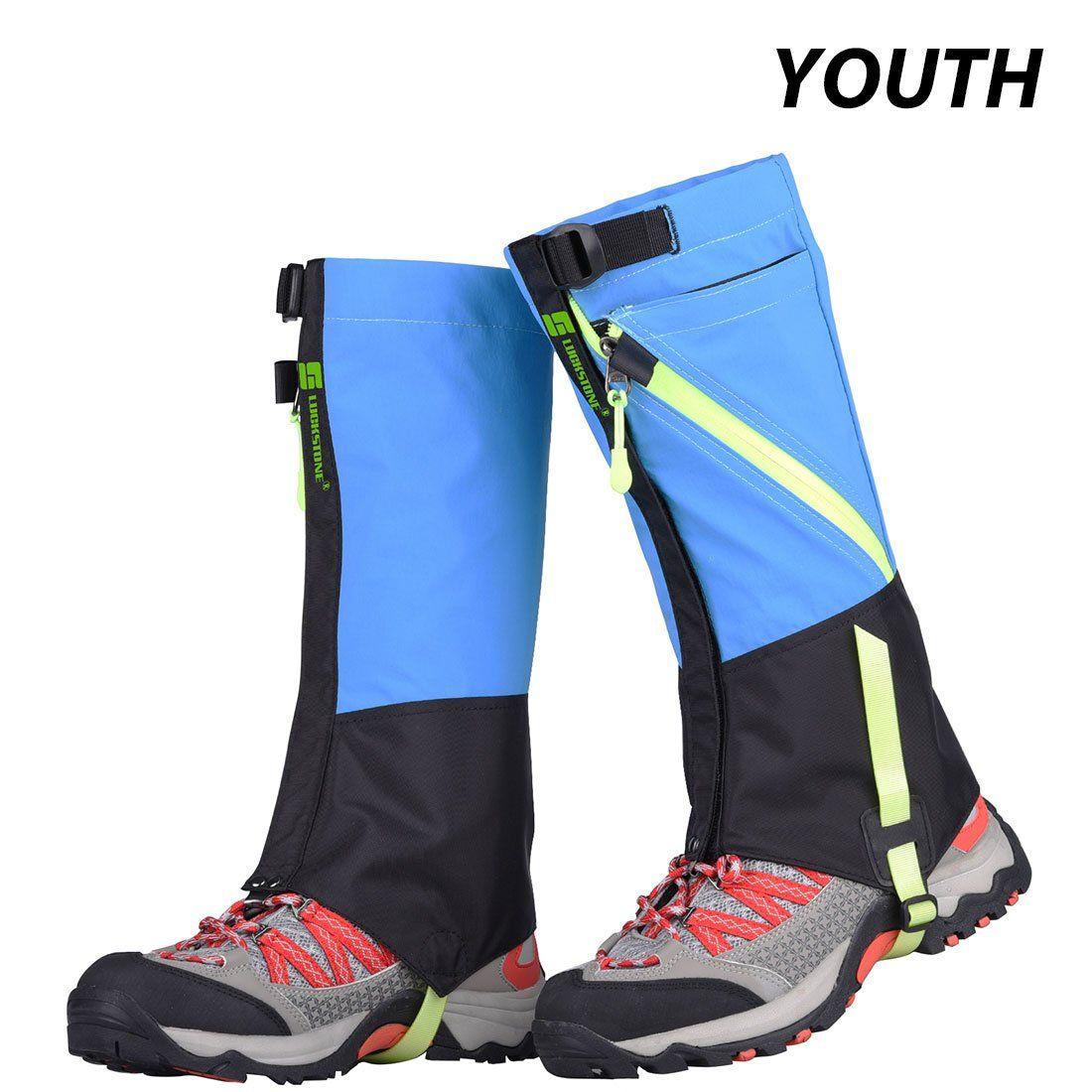 UK Waterproof Legging Gaiters Teekking Hiking Desert Snow Boots Shoes Covers