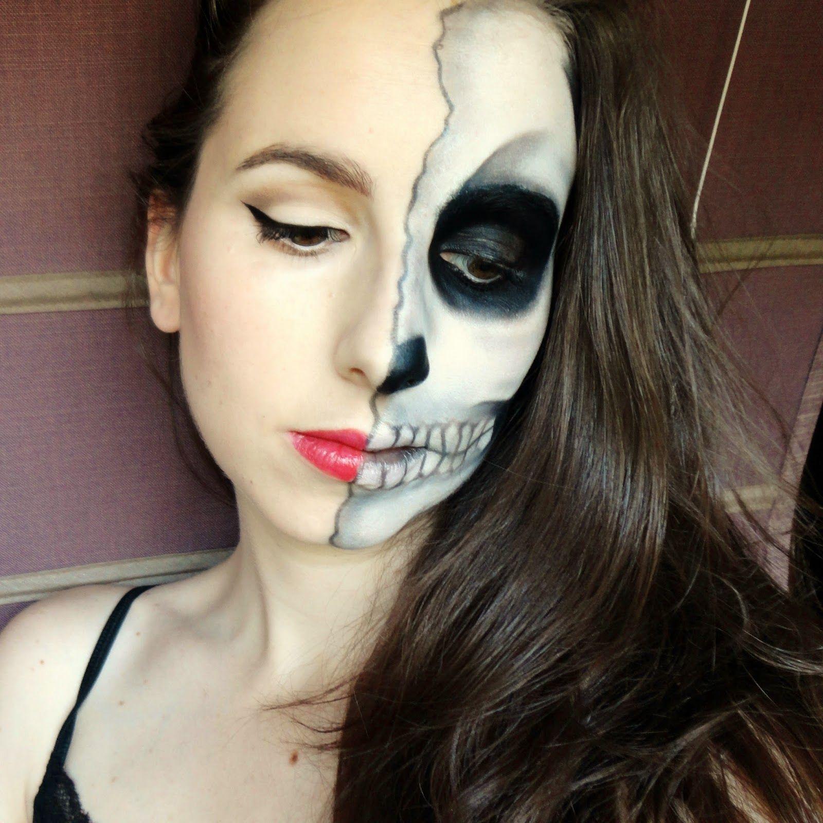 Paso a paso maquillaje para halloween no os lo perd is - Pintura cara halloween ...