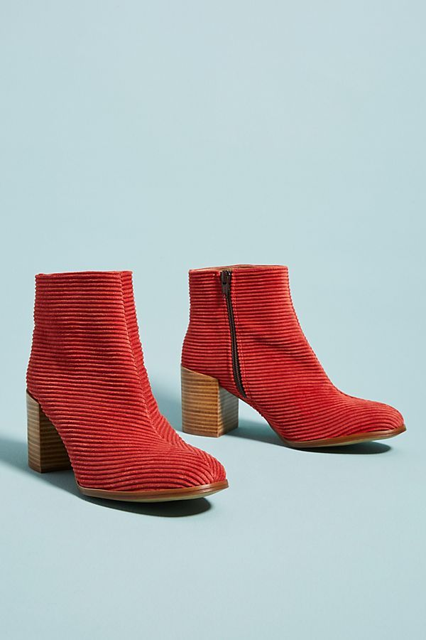 e977e49e01b Anthropologie Corduroy Booties