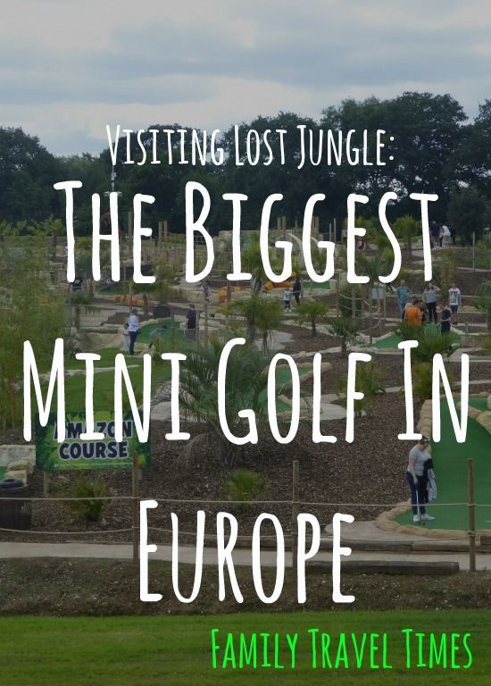 Visiting Lost Jungle London: Europe's largest mini golf ...