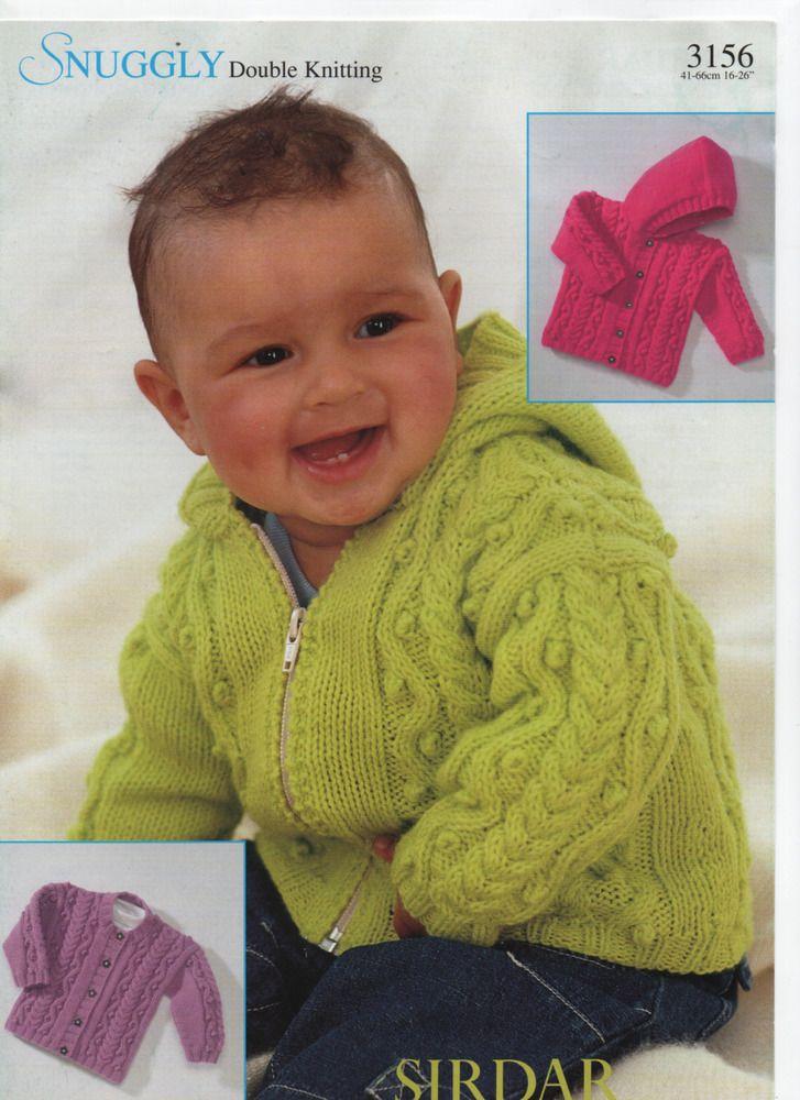 Sirdar Dk Aran Style Hooded Jacketcardigan Knitting Pattern
