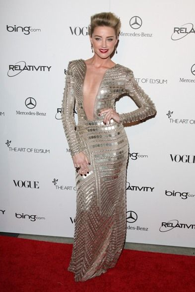 Celebs at the Art of Elysiums 4th Annual Heaven Gala