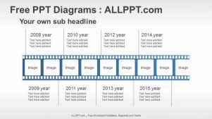 Film Timeline Ppt Diagrams  Presentation    Diagram