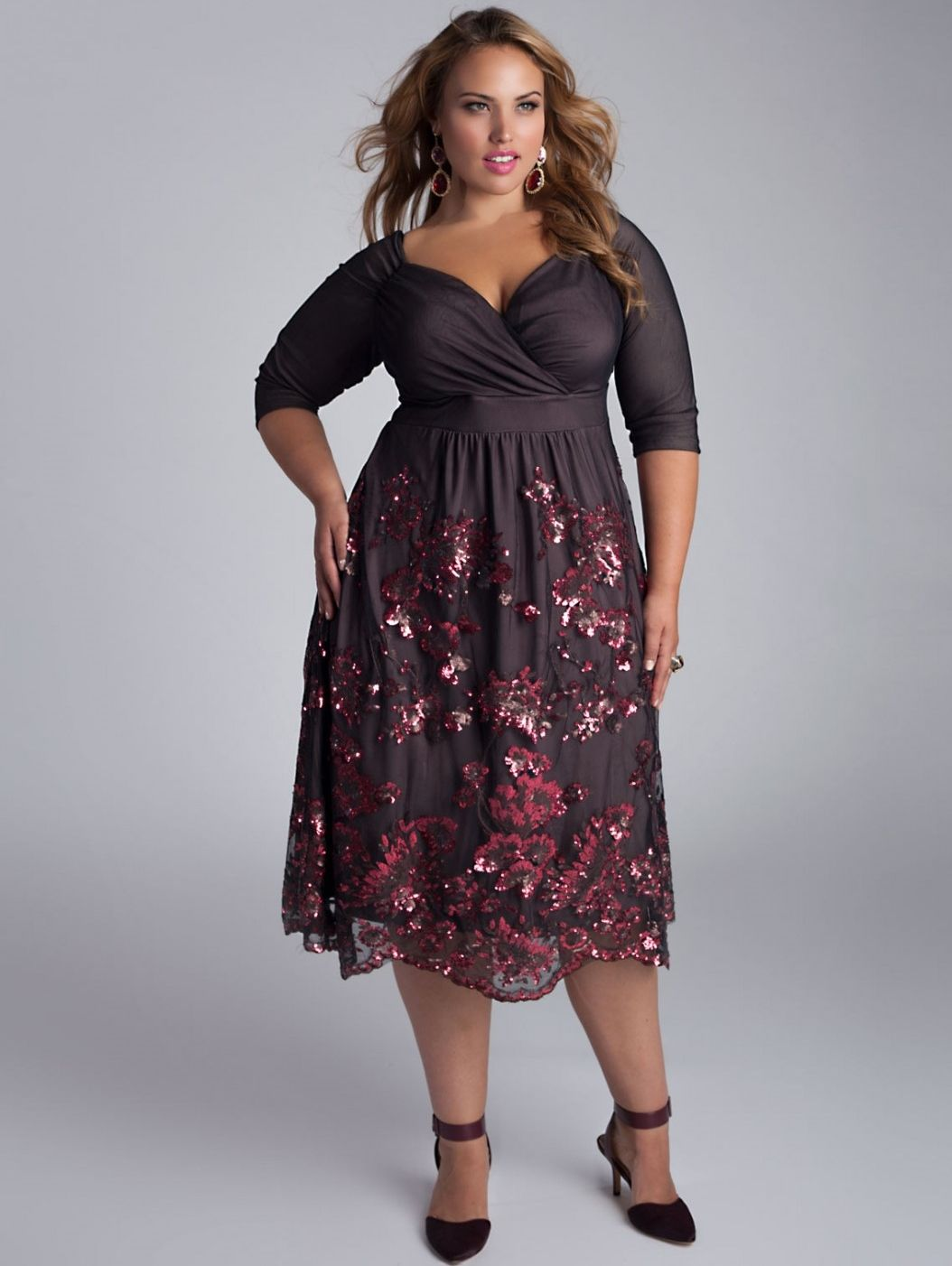 Amaryllis Dress by Igigi via www.ladiva.dk Sparkle away in this very special dress...