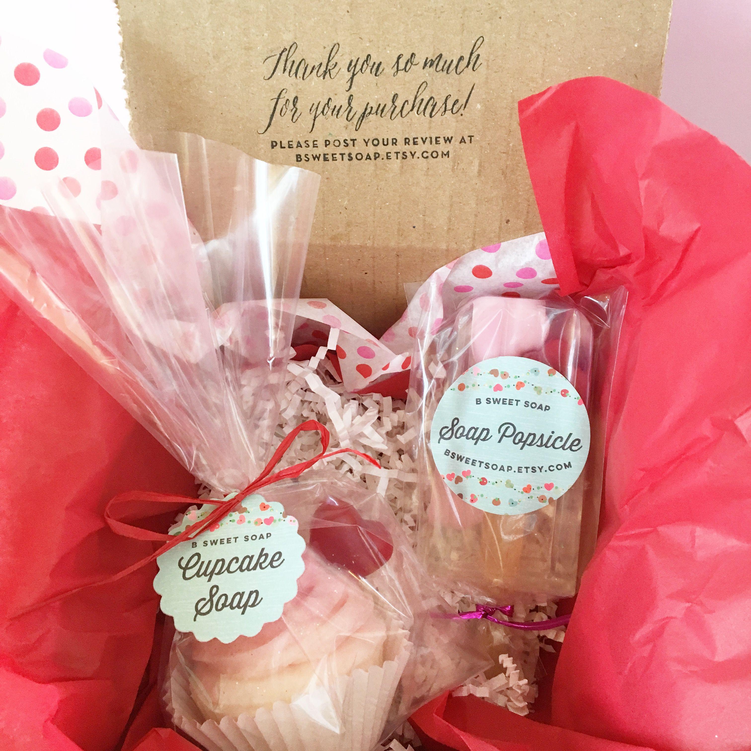 Valentine's Soap, Cupcake Soap, Popsicle Soap, Soapsicle