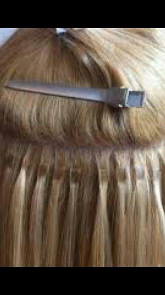 Very Flat Keratin Bond Hair Extensions Need High Tech Tool To