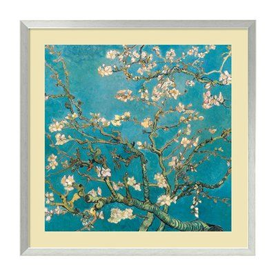 Amanti Art DSW1385104 'Almond Branches in Bloom, San Remy 1890' Framed Art Print, 34x34, 220