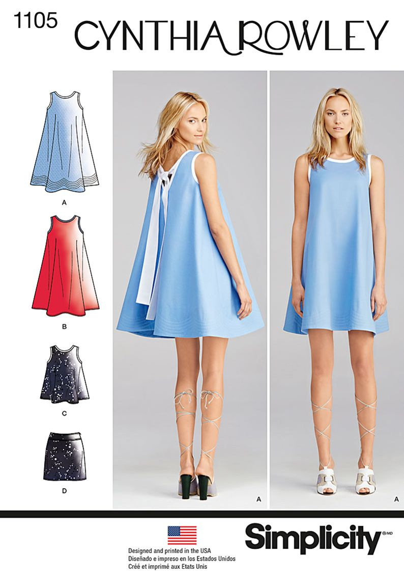 Simplicity Creative Group - Misses\' Dresses Cynthia Rowley ...